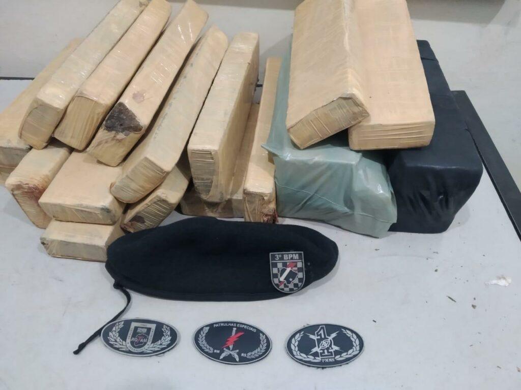 PM em Dourados fecha dois pontos de venda de drogas e prende quatro