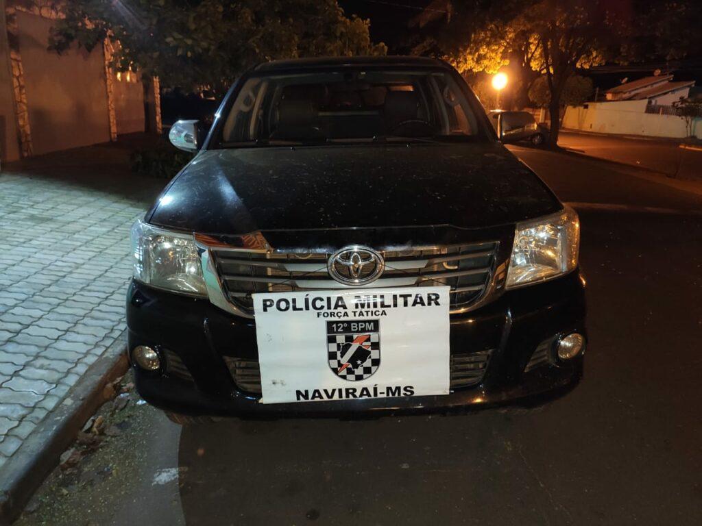 PM e PF apreendem veículos roubados usados no contrabando de cigarros no interior de MS