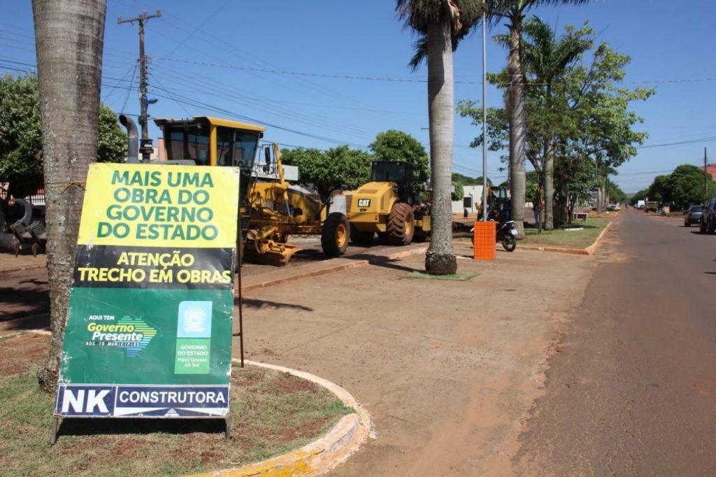 Em Caarapó, Azambuja inaugura indústria com 300 empregos e entrega reforma de escola