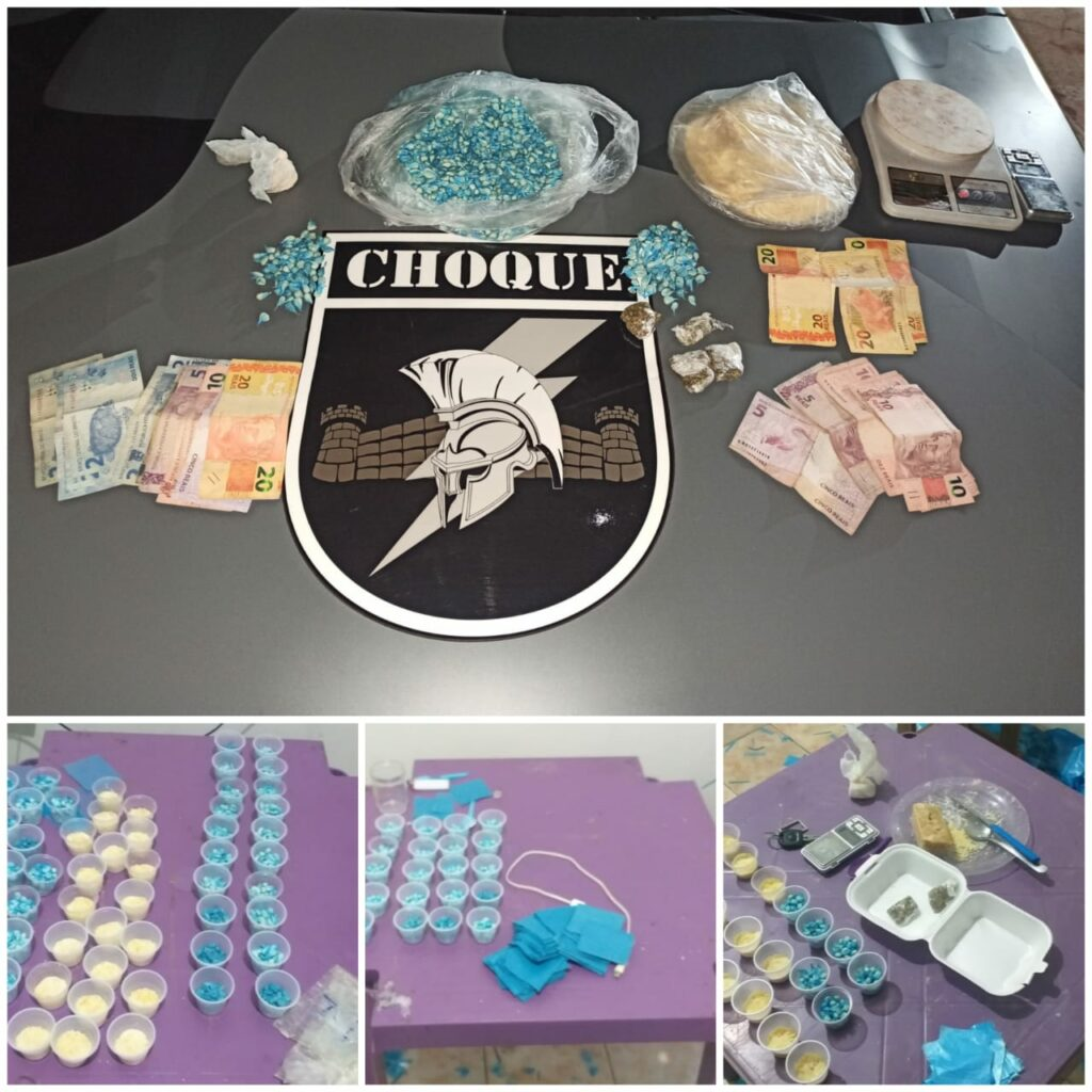 Choque prende autores de homicídio no bairro Tijuca II