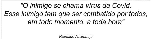 Reinaldo Azambuja diz que Mato Grosso do Sul cumpre papel no combate à Covid