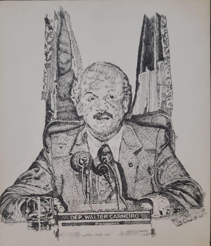 Constituinte e pai da UEMS, Walter Carneiro prepara biografia
