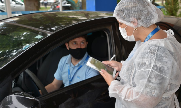 Fiems Inaugura ponto de testagem gratuita para Covid-19 na Capital
