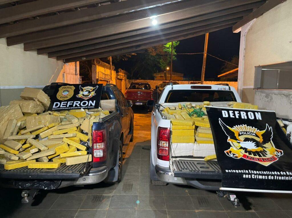 Em ação do Defron, seis traficantes são presos na fronteira