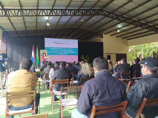 UEMS participa de inauguração do centro turístico do RBM no Paraguai