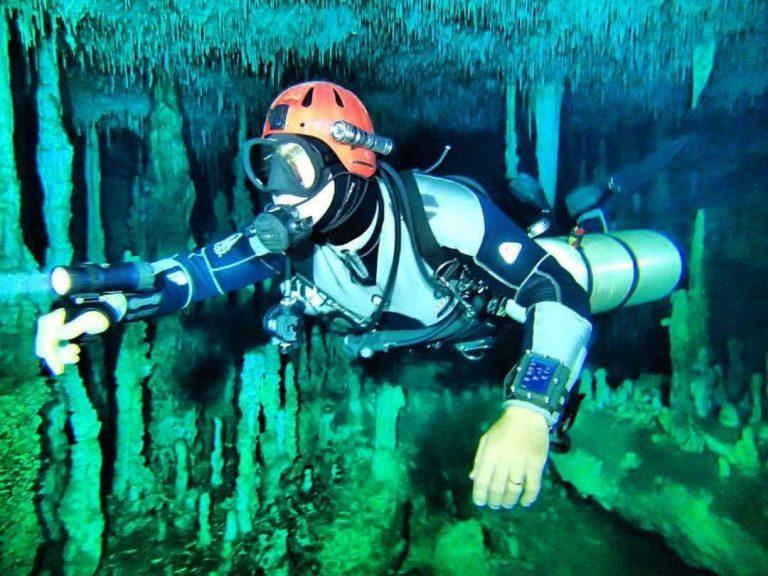 Corpo de Bombeiros de MS realiza Curso de Mergulho em Caverna