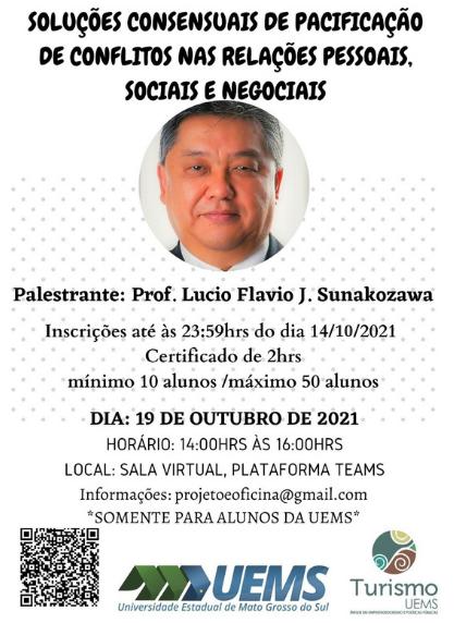 UEMS de Campo Grande: Oficina técnica fala sobre soluções de pacificação em conflitos