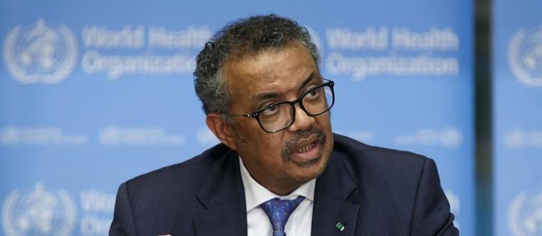 O diretor-geral da OMS expôs a necessidade de combater a desinformação Salvatore Di Nolfi / EFE