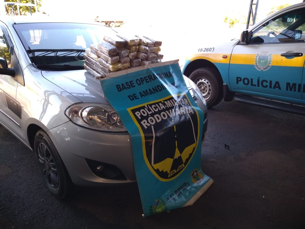 PMR prende mulher por tráfico de drogas em rodovia de MS