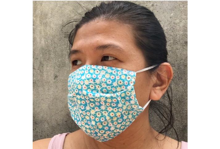 Na internet não falta videoaulas e fotos de como produzir a máscara individual de tecido Foto/Divulgação