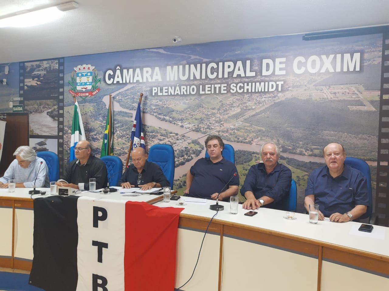 Moacir Khol foi eleito presidente da sigla municipal. Divulgação
