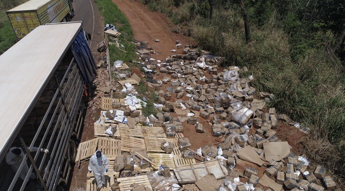 Derramamento de agrotóxico em Costa Rica, ocorrido no início de novembro do ano passado