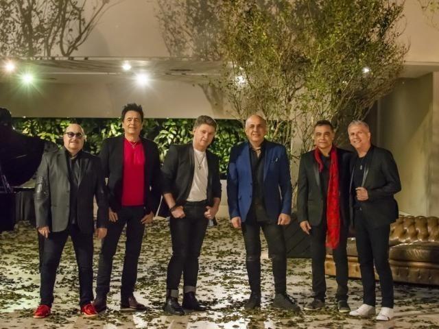 Banda Roupa Nova se apresenta amanhã no Bosque Expo