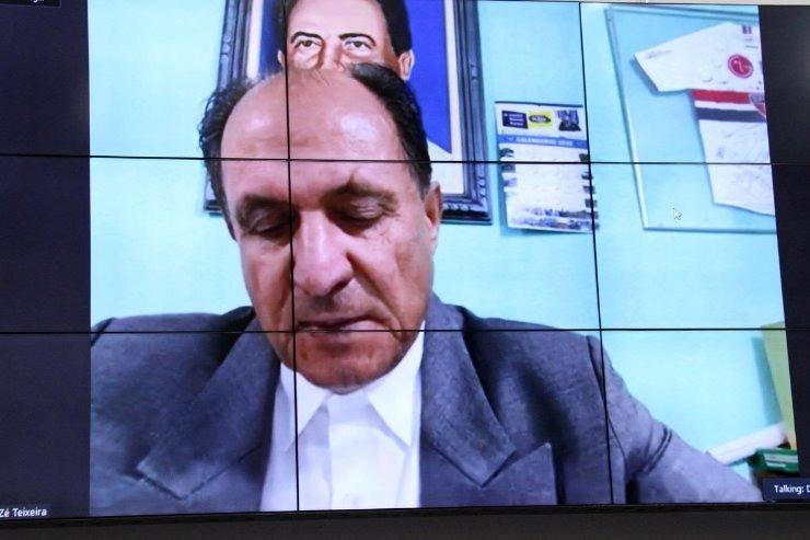 Em sessão por videoconferência, o deputado Zé Teixeira apresentou a matéria que beneficia as vítimas de violência doméstica. Wagner Guimarães
