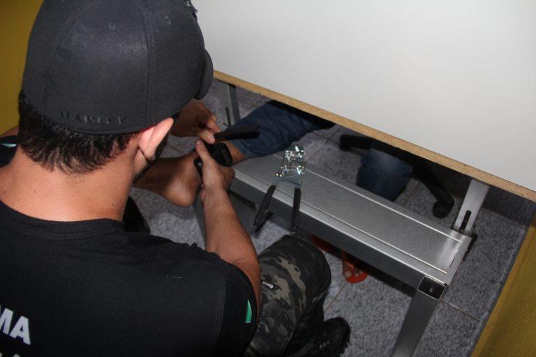O usuário da tornozeleira é obrigado a comparecer a Unidade de Monitoramento a cada 45 dias para vistoria do equipamento. Edemir Rodrigues