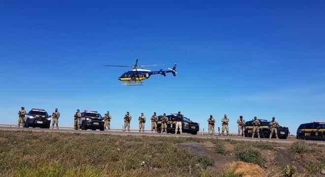 Operação prendeu 316 pessoas Divulgação/Ascom/PRF