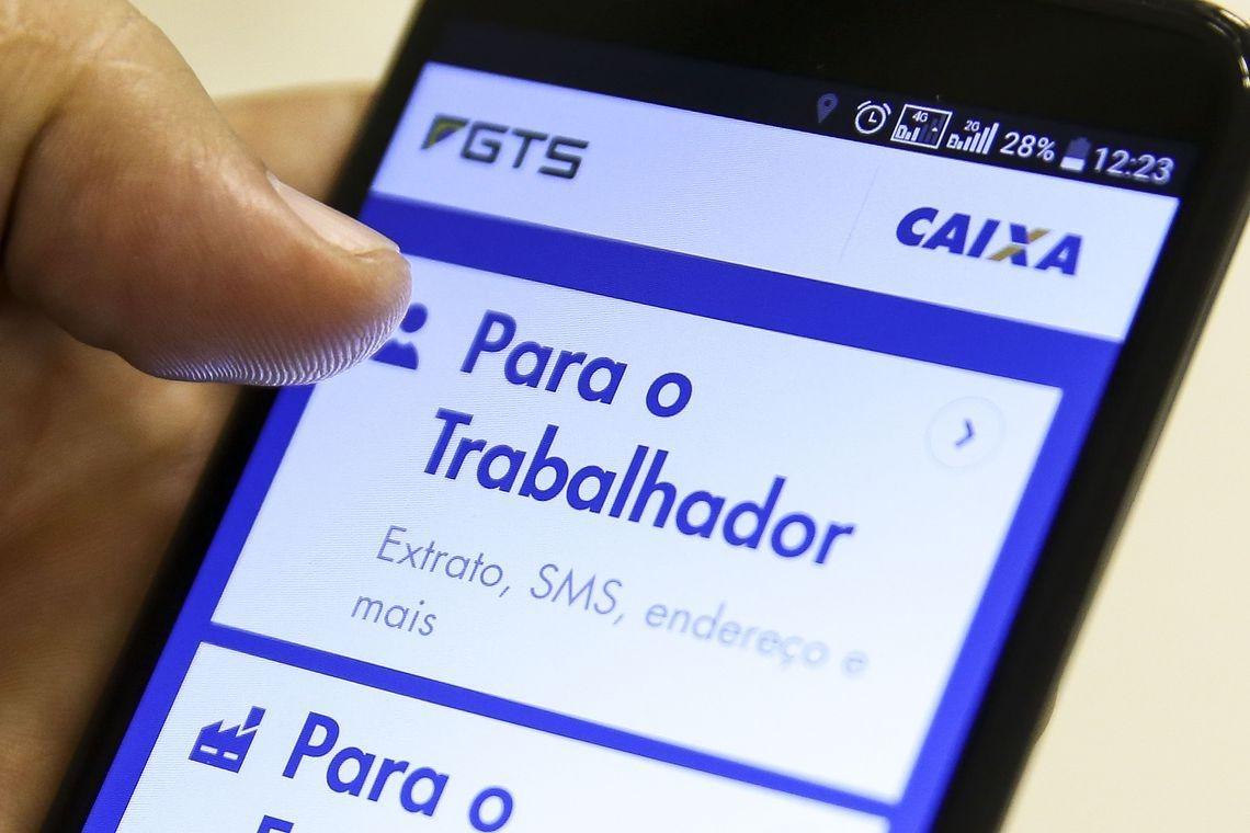 Saque-aniversário em junho vai beneficiar 908,6 mil trabalhadores Marcelo Camargo/Agência Brasil
