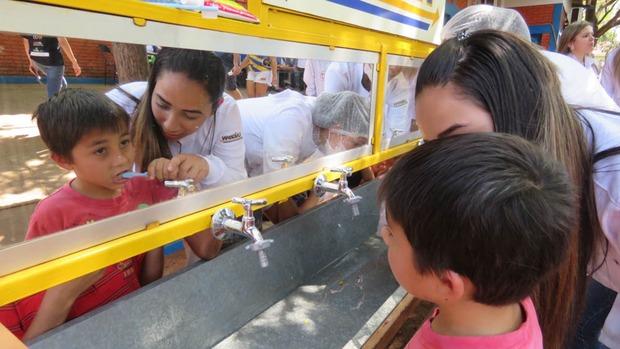 Ação Social UNIGRAN leva diversas atividades em escola municipal de Dourados