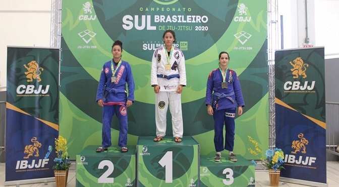 Giovanna Jara de Souza conquistou o ouro em duas categorias