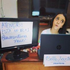Dia da Imprensa: servidora do estado e filha criam juntas portal de informações durante a pandemia