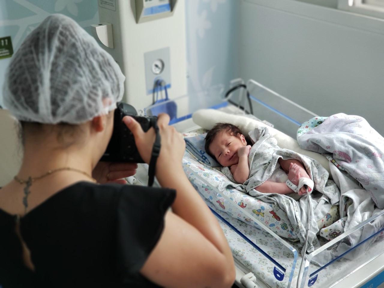 Maternidade realiza curso de assepsia para fotógrafos de parto