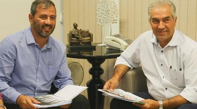 Governador assina convênios para curso medicina e pós-graduação da UEMS