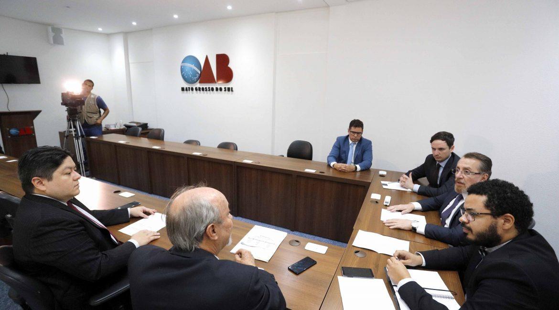 Instituições e OAB/MS reúnem para discutir o aumento do ICMS sobre combustíveis