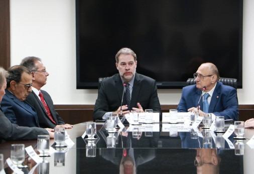Presidente do STF e CNJ destaca justiça acessível e eficiente em visita ao TJMS