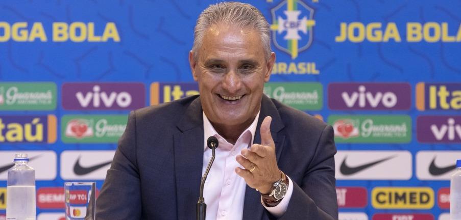 Tite, técnico da Seleção Brasileira. Lucas Figueiredo/CBF