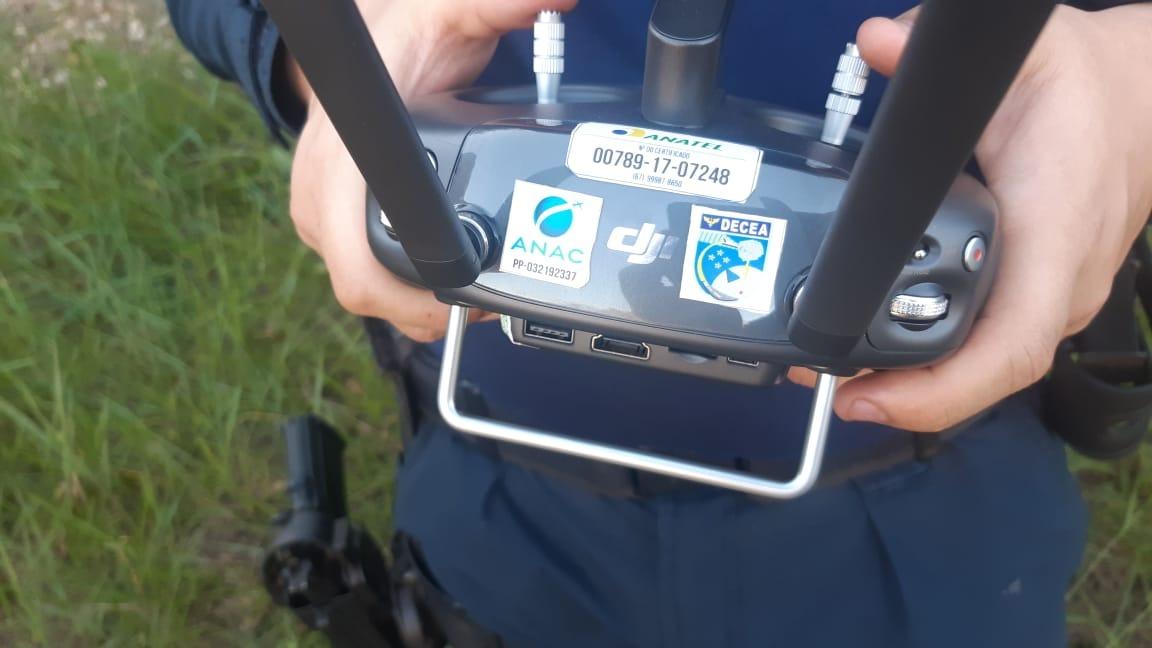 Polícia Militar Rodoviária capacita policiais para operação com drones