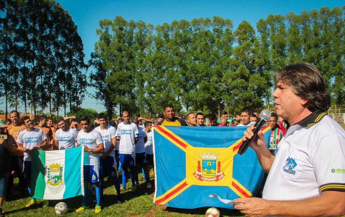 Ontem, Caravina abriu a 17ª edição da Copa Assomasul. Edson Ribeiro