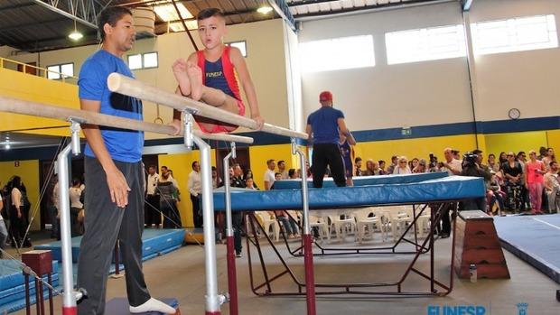Cefat ganha novos aparelhos e amplia chances de atletas se destacarem na ginástica artística