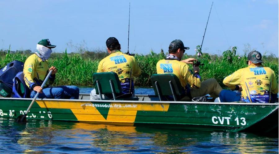 Cota zero tem o apoio unânime dos pescadores esportivos. Foto: Edemir Rodrigues