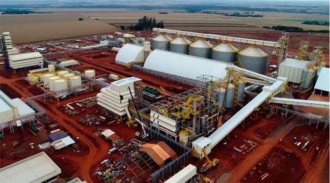 Complexo industrial começa operar neste mês em Dourados