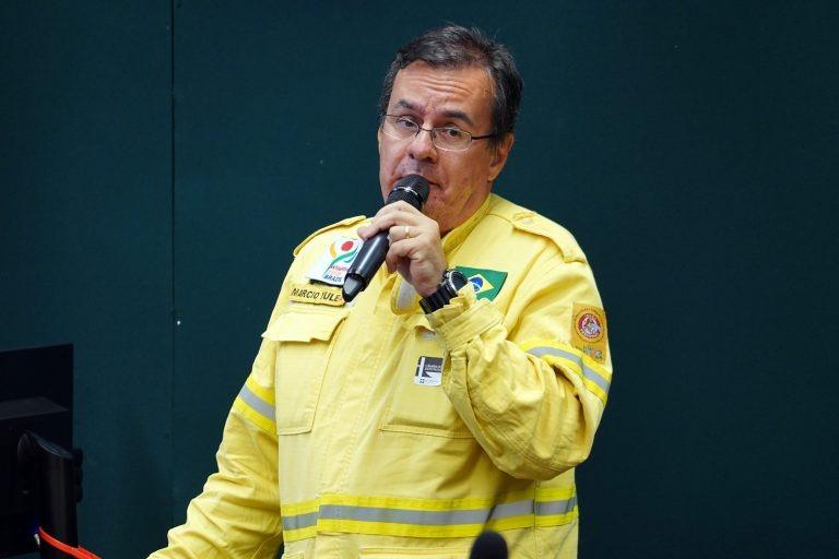 Márcio Yule disse que somente no mês de outubro mais de 518 mil hectares do Pantanal pegaram fogo. Pablo Valadares/Câmara dos Deputados